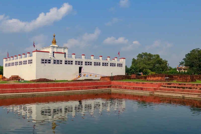 Maya Devi Temple • Lumbini