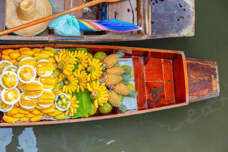 Damnoen Saduak Floating Market • Ratchaburi