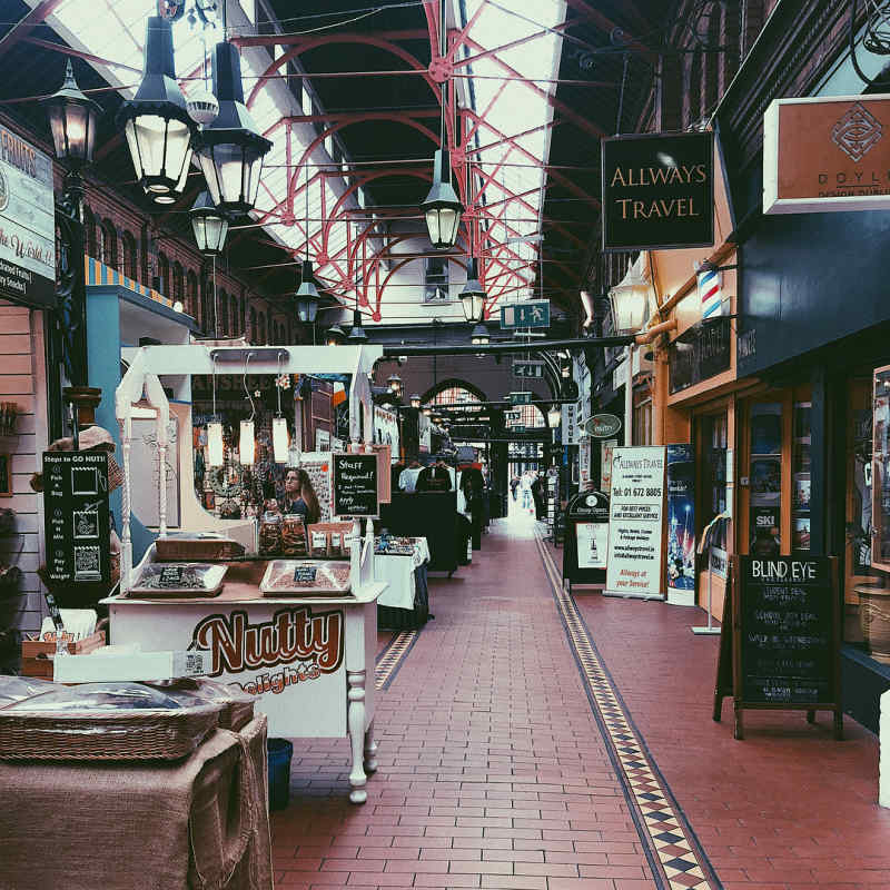 George's Street Arcade in Dublin, Ireland