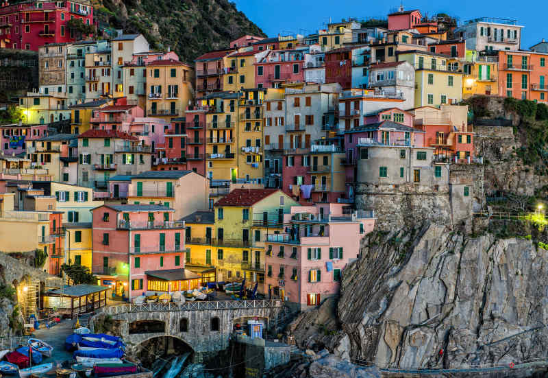 Colorful Cities: Cinque Terre, Italy