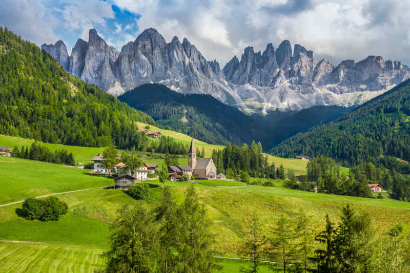 Dolomites, South Tyrol, Italy