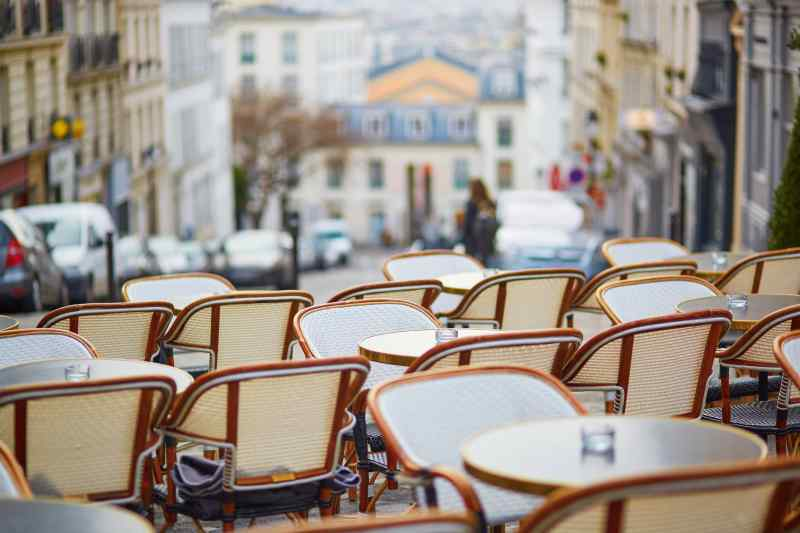 Travel to Montmartre in France
