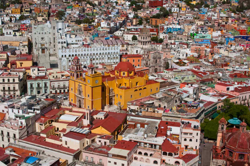 Colorful Cities: Guanajuato, Mexico