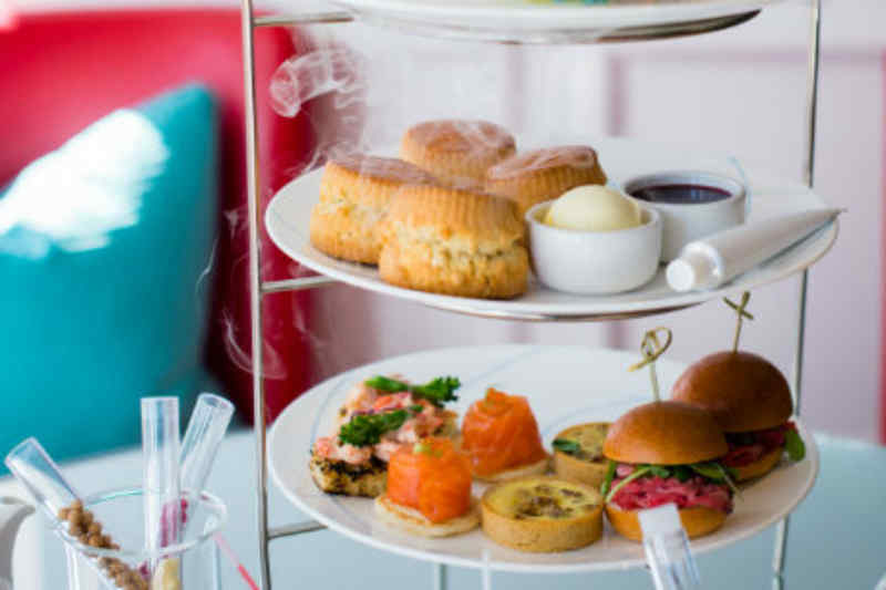 Science Afternoon Tea at The Ampersand