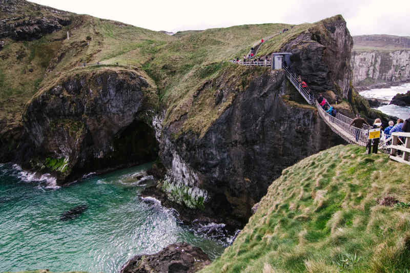 Walk Carrick a Rede Rope Bridge
