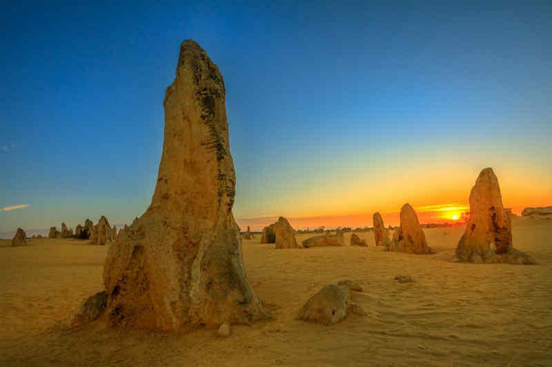 The Pinnacles in Nambung, Australia