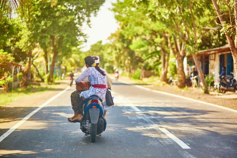Travel by motorbike
