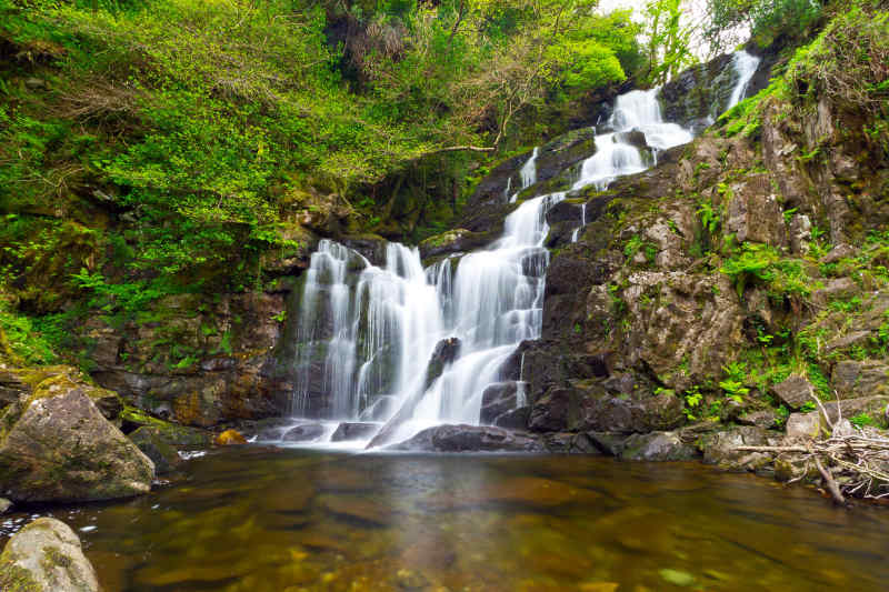Torc Waterfall Killarney National Park Ireland