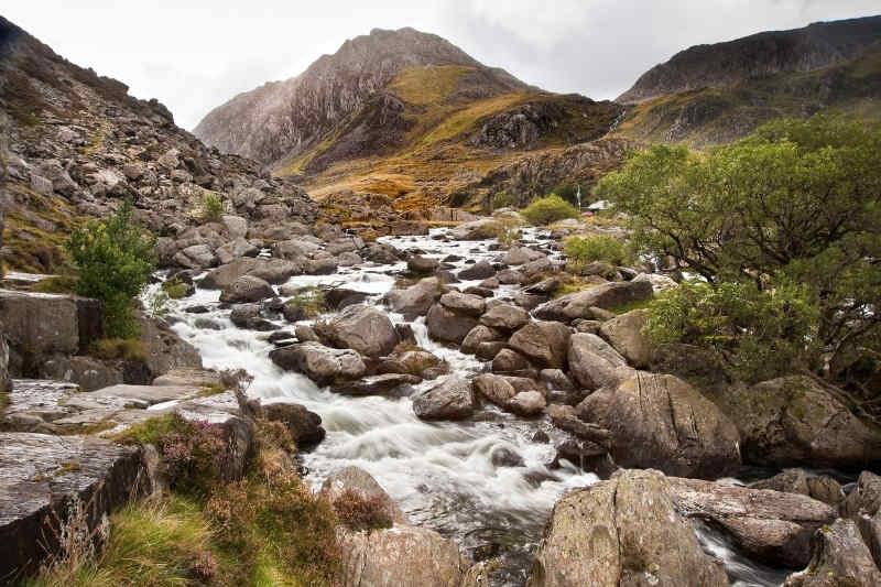 Ogwen Falls Snowdonia
