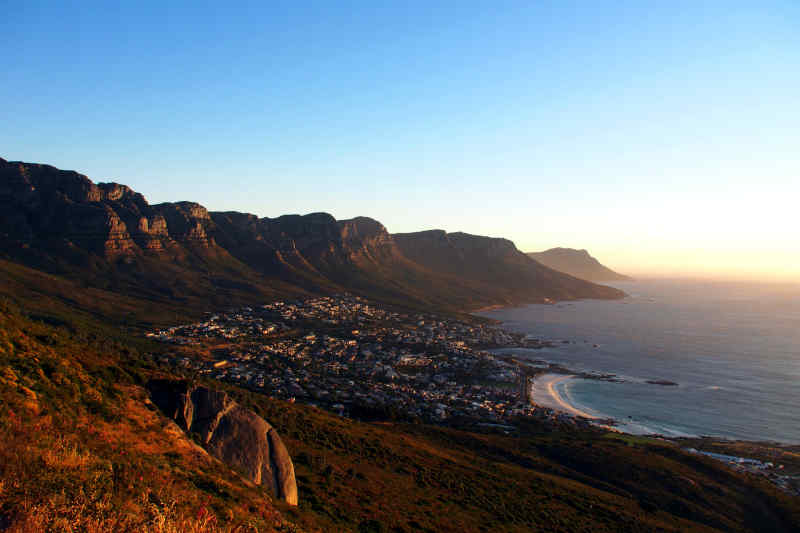 Twelve Apostles, View from Lion's Head in Cape Town
