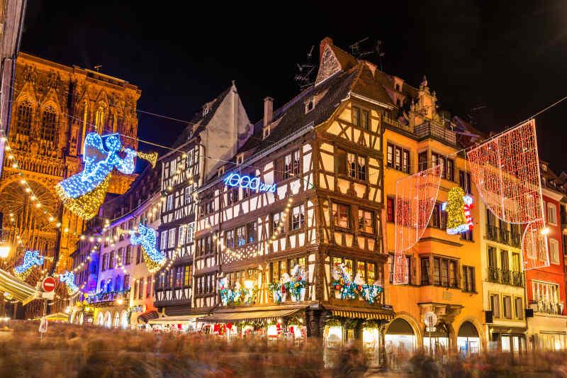 Christkindelsmärik Strasbourg • France