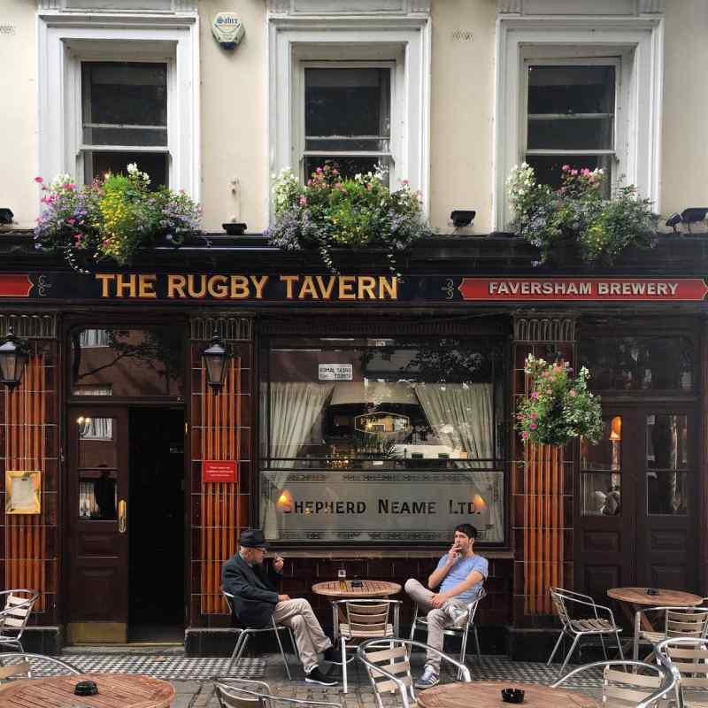The Rugby Tavern in London, England