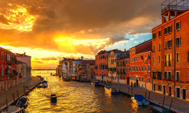 Cannaregio in Venice, Italy