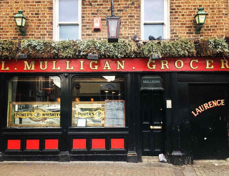 L. Mulligan Grocer in Dublin
