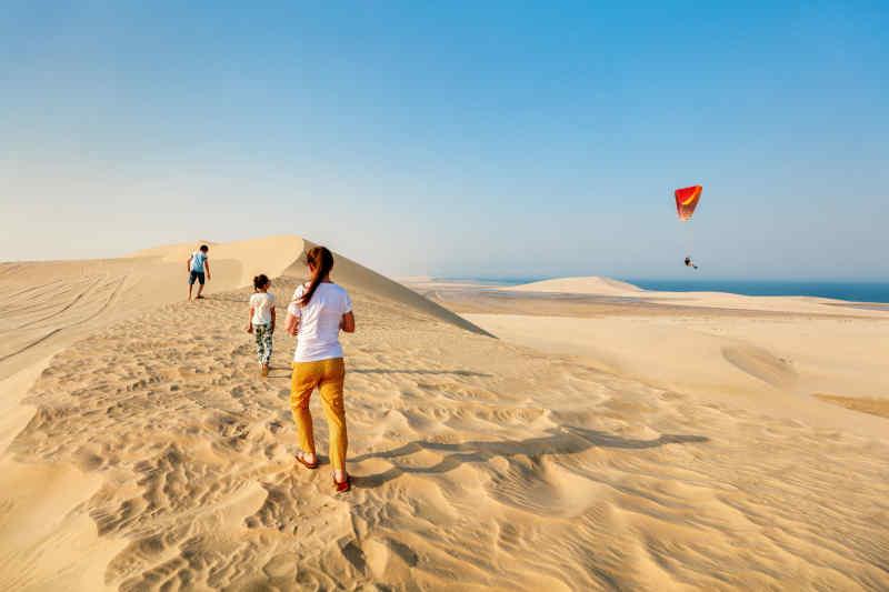 Desert adventure in Qatar