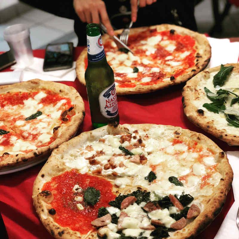 Pizzeria Di Matteo in Naples, Italy