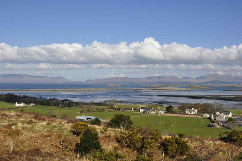 Clew Bay in Galway, Ireland