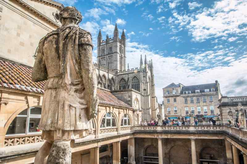 Travel to Bath in England