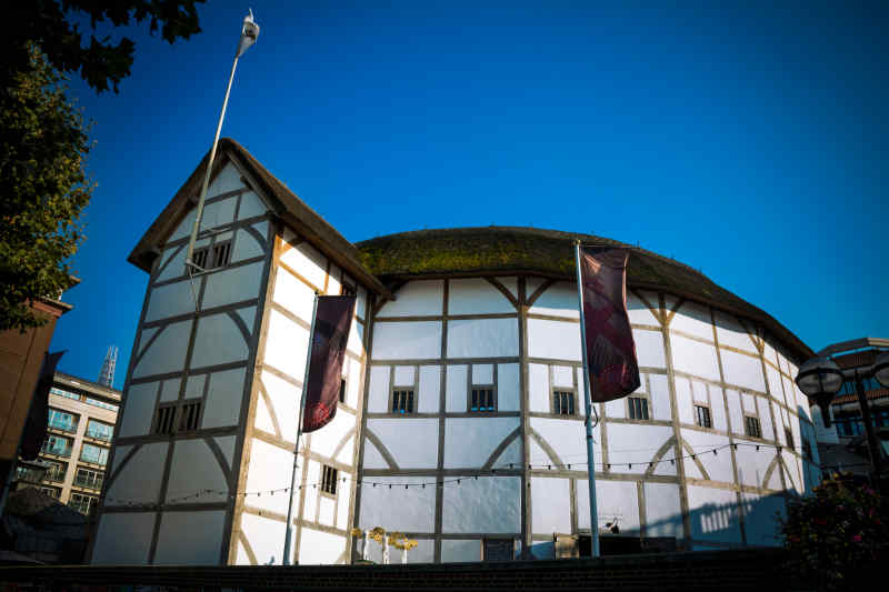 London England globe theatre
