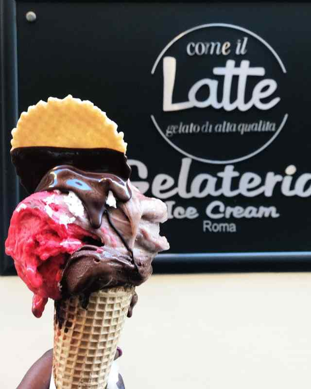 Come il Late Gelateria in Rome, Italy