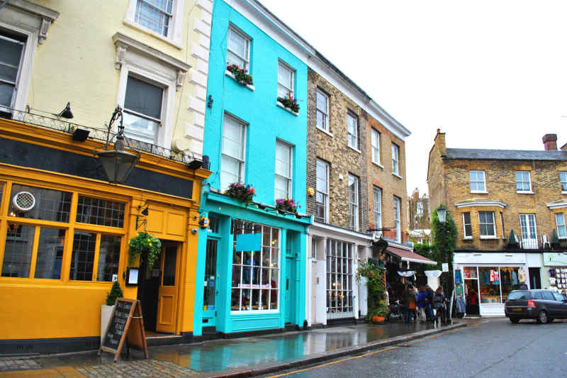 Notting Hill in London, England