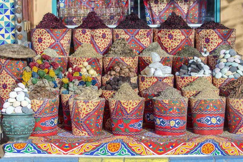 Spices at bazaar