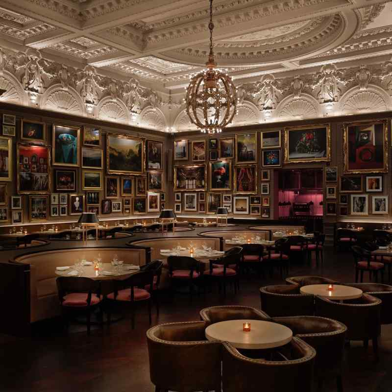 Berners Tavern in London, England