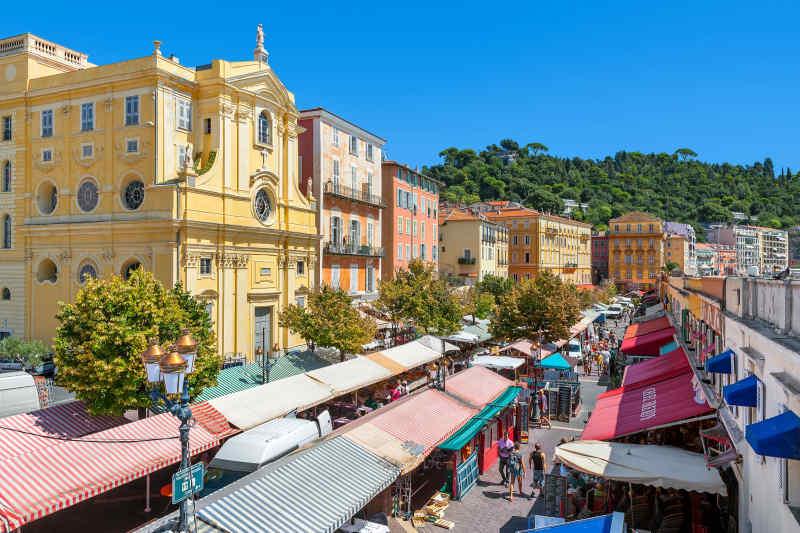 Cours Saleya • Nice, France