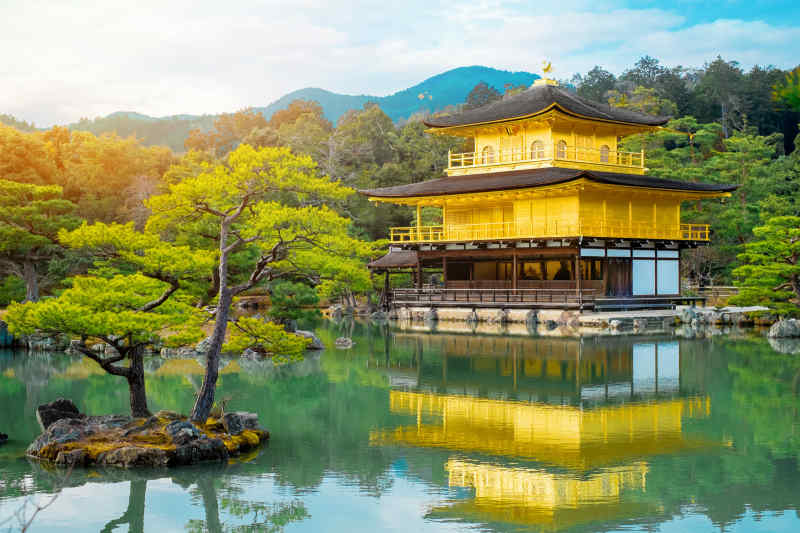 Golden Zen Buddhist Temple, Kyoto
