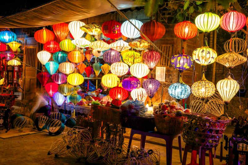 Coloful Lanterns in Hoi An, Vietnam