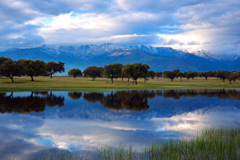 Laguna Grande in Sierra de Gredos in Spain
