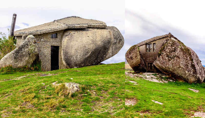 Casa do Penedo in the Fafe Mountains, Portugal