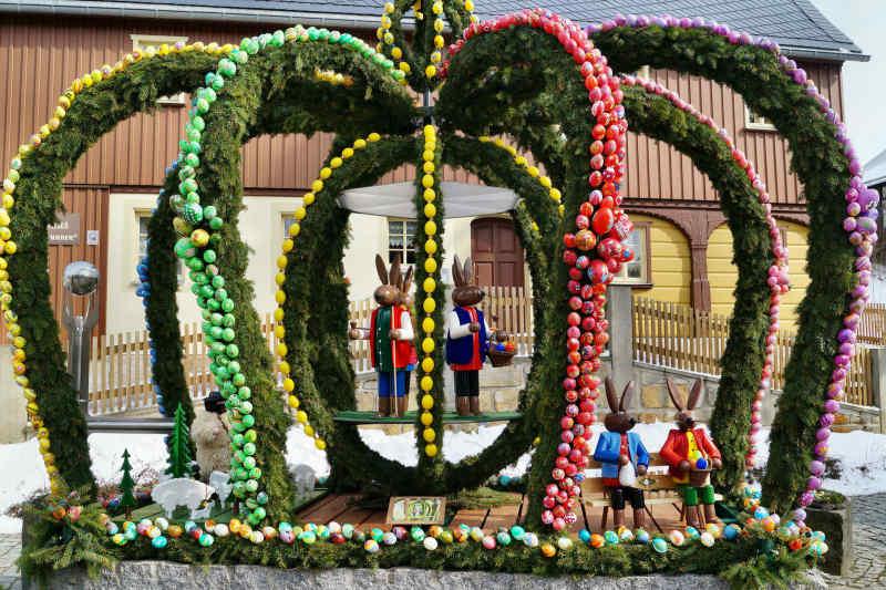 Swiss Easter Well
