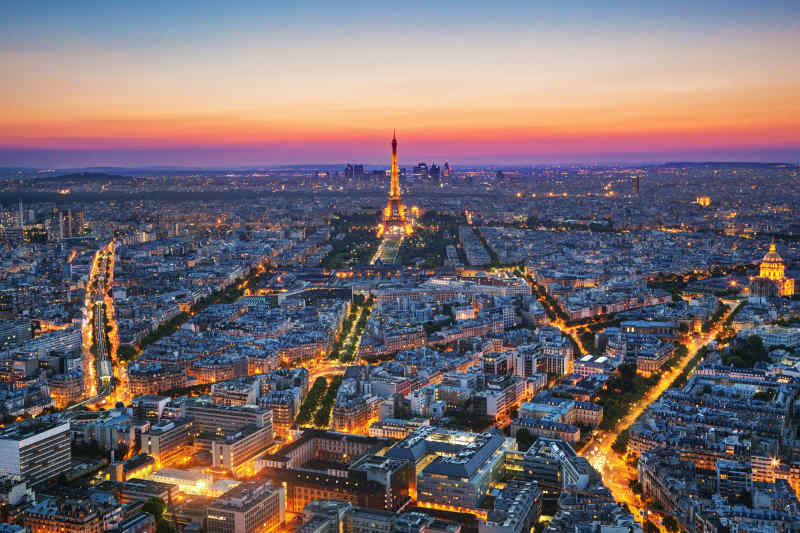 Paris, the City of Light