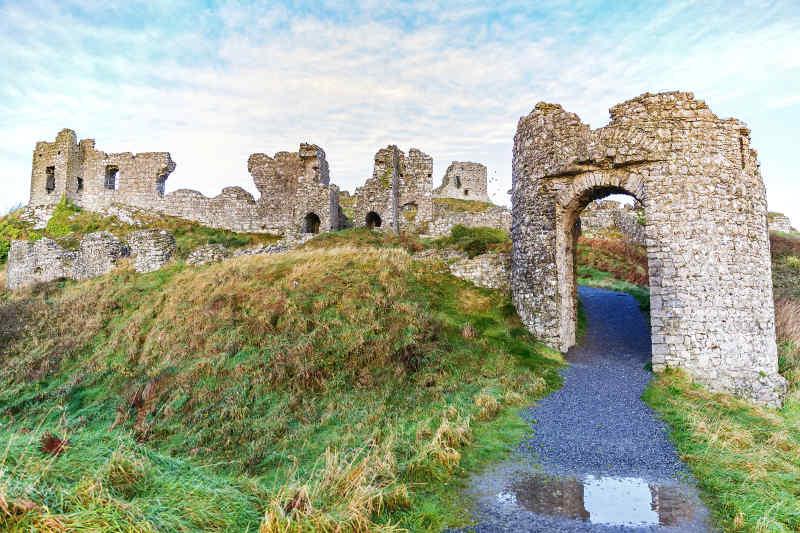 Rock of Dunamase Castle County Laois Ireland