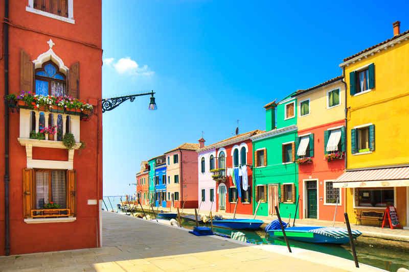 Burano near Venice, Italy