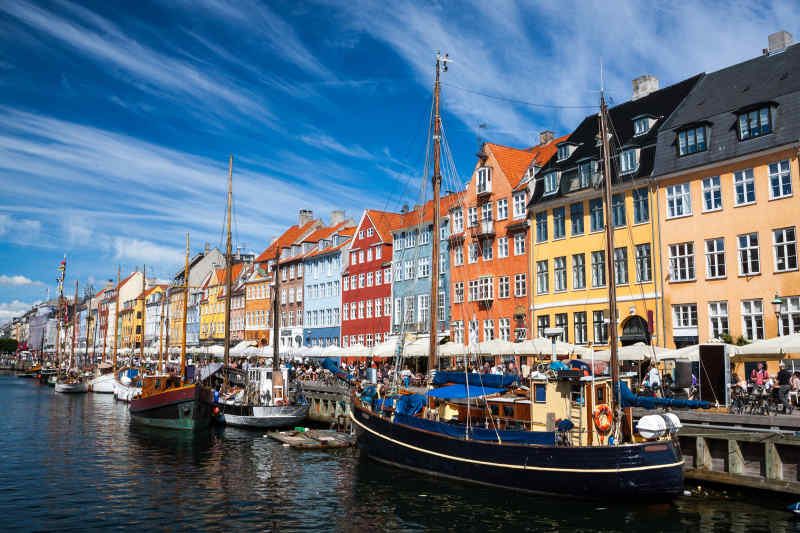 Colorful buildings of Nyhavn