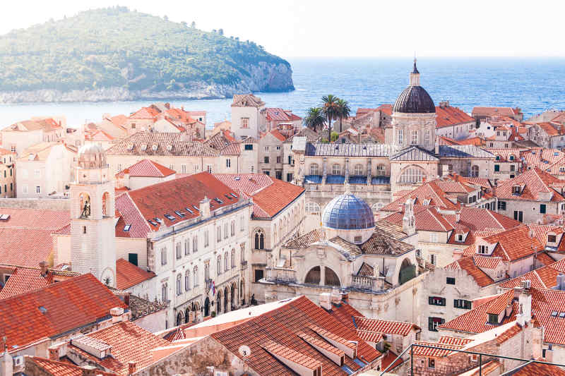 Travel to Dubrovnik in Croatia