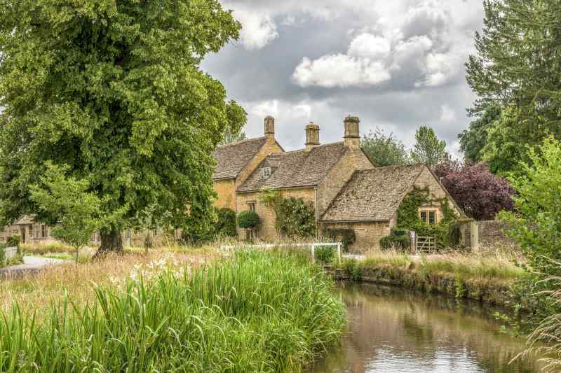the Cotswolds in England