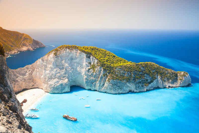 Navagio Beach • Zakynthos, Greece