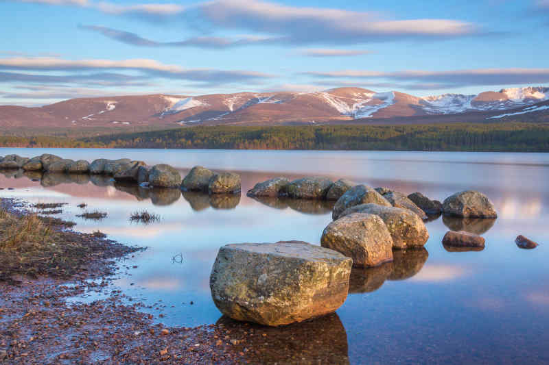 Cairngorms National Park in the Scottish Highlands