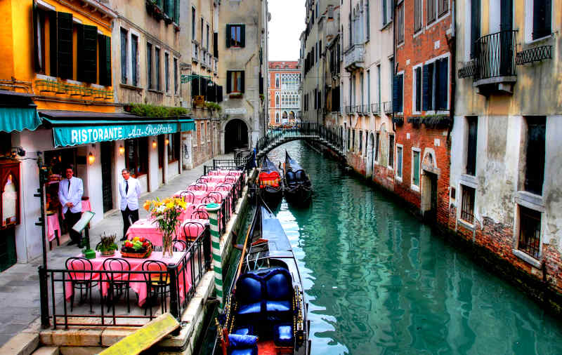 Travel to Venice, Italy