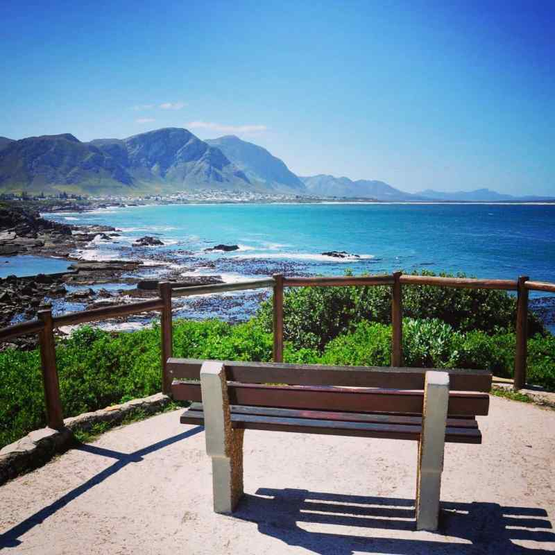 Grotto Beach in Hermanus, South Africa
