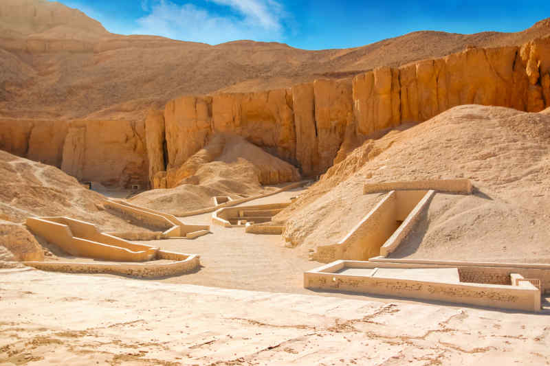 Valley of the Kings • King Tut's tombs