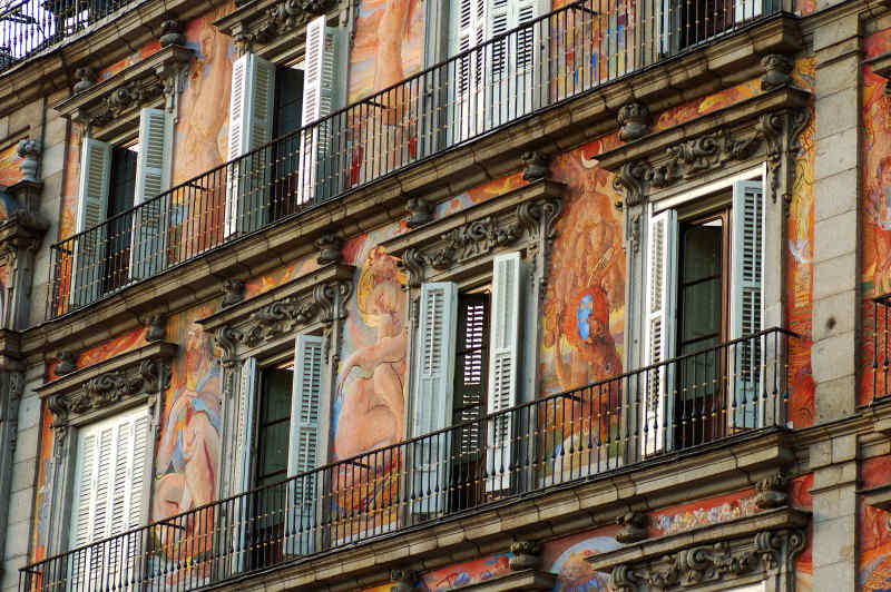 Balconies of Plaza Mayor