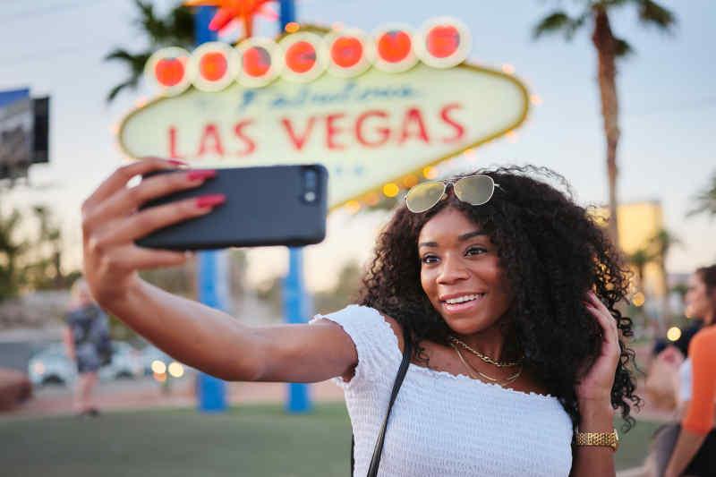 Social media humblebrag Vegas