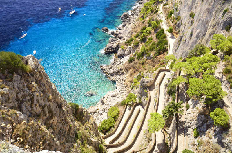 Travel to Amalfi Coast in Italy