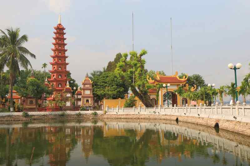 Travel to Hanoi in Vietnam