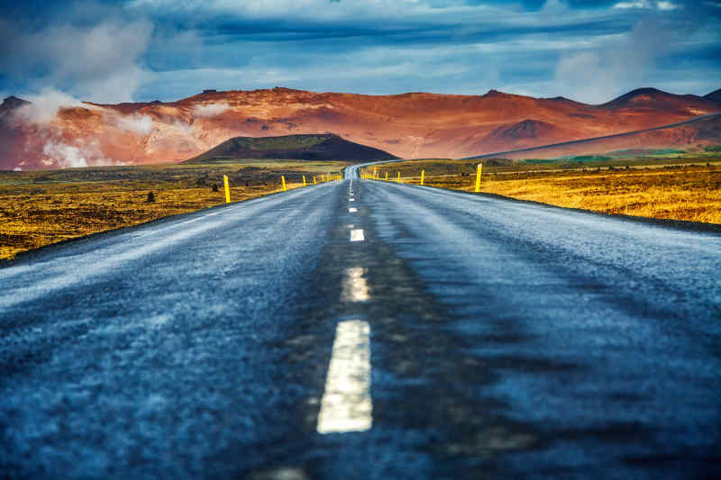 Road to Myvatn