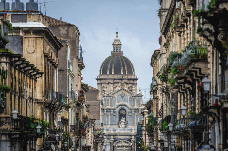 Catania in Italy